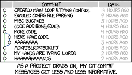 git commit xkcd