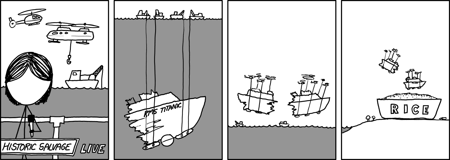 Salvage xkcd strip